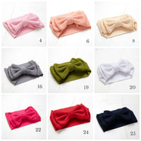 Lolita Big BOW  Headwraps - 17 Colors