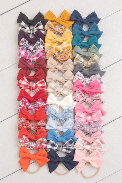 Rylie Bow Headband Medium - 47 Styles