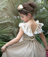 Matilda Dress -Natural