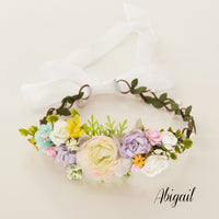 Abigail Flower Girl Crown