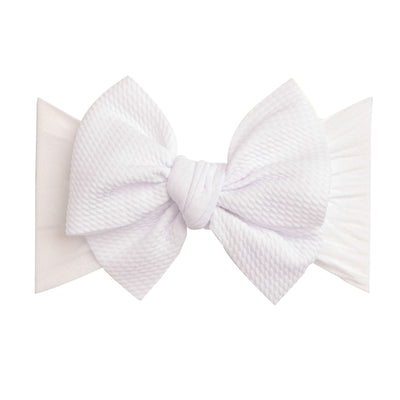Lola Nylon Headwraps White 20