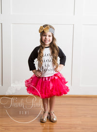 Petti Tutu Skirt in Hot Pink