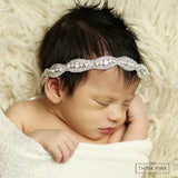 A Royal Story Bling Headband - Think Pink Bows - 3