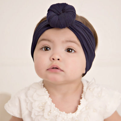 Turban Nylon Headwraps NAVY 25