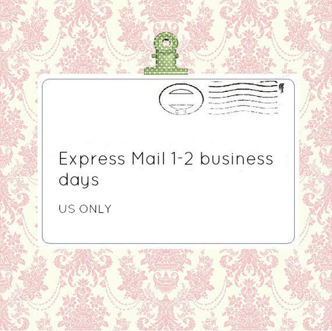 Express Mail 1-2 Business Days - Think Pink Bows