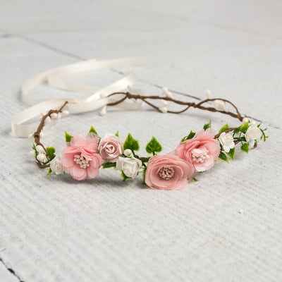 Lucia Flower Girl Crown