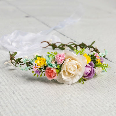 Kinsley Flower Girl Crown