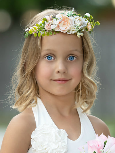 Emory Flower Girl Crown