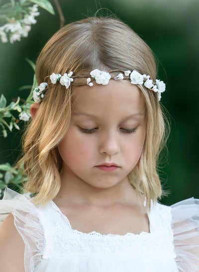 Amelia Flower Girl Crown