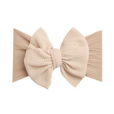 Lola Nylon Headwraps NATURAL 38