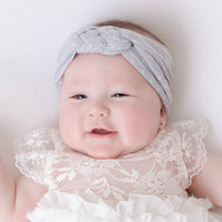 BRIA Sailor Knot Headwraps Pearl Grey 10