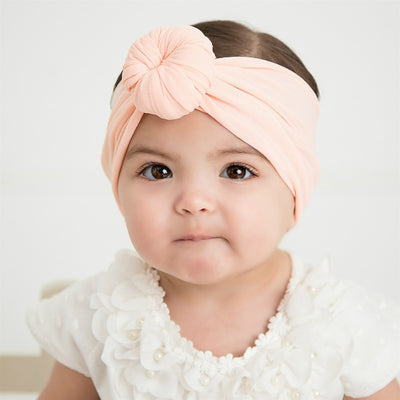 Turban Nylon Headwraps PEACH 6