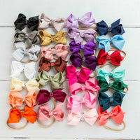 Grosgrain BOW Headbands 29 Colors