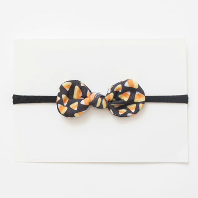 Halloween TOP Knot Headbands - Candy Corn