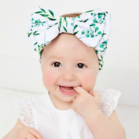 Lolita Big BOW Printed  Headwraps - 8 Prints