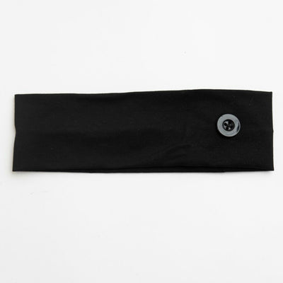 Mask Holder Headband BLACK