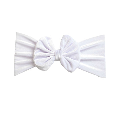 Velvet  Headwraps White 20
