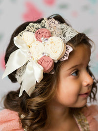 All My Heart Rosette Headband