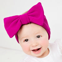Lily Big BOW  Headwraps - 17 Colors