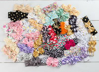 5 or 10 Headbands GRAB a BAG Messy Bow Headbands