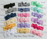 Striped Big Bow Headwraps - Think Pink Bows - 2