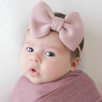PUFF Bow Nylon Headband - 24 Colors