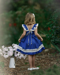 Matilda Dress -Royal