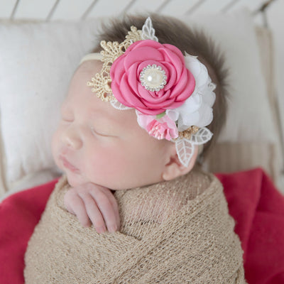 Nelly Floral Nylon Headband 5 Colors
