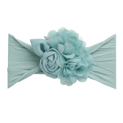 Couture Nylon Headwraps CAPRI BLUE 14