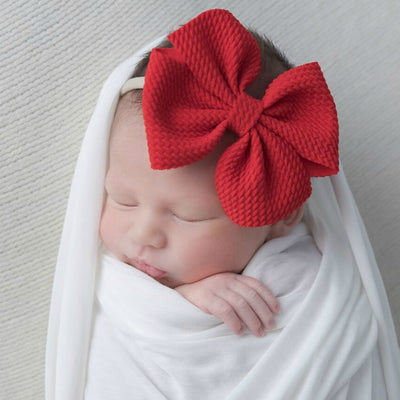 Aria Bow Nylon Headbands |22 Colors