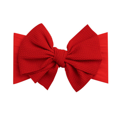 Lola Nylon Headwraps Red 24