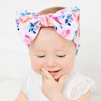 Lily Big BOW Printed  Headwraps - 9 Prints