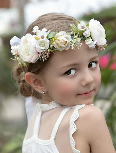 Kendall Flower Girl Crown
