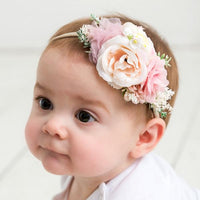 Style 37 Pocket Full of Posies Nylon Headband
