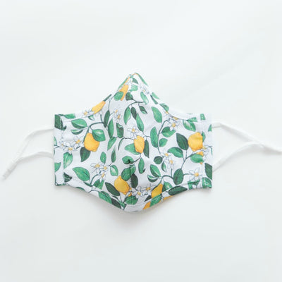 3D MASK WHITE LEMON