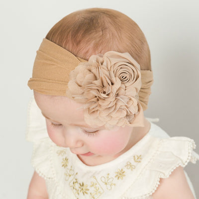 Couture Nylon Headwraps LATTE 16