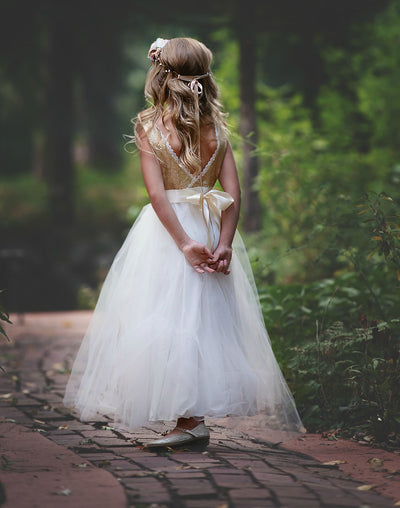 Leanne Flower Girl Dress