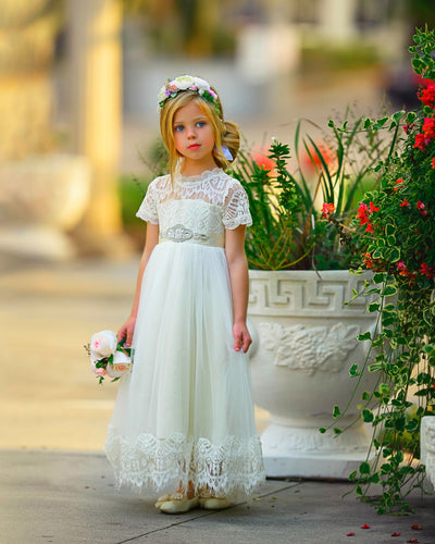 Antonella Dress - Ivory