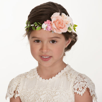 Nadia Flower Girl Crown