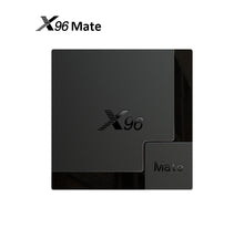 Load image into Gallery viewer, SOLOVOX 2020 X96 Mate Android 10.0 Smart TV BOX Allwinner H616 Quad Core 4GB 64GB 32GB 2.4G 5G Dual WiFi BT5.0 4K 6K X96Mate Android TV Box MARS TV X IPTV Better Than X96Q Mini Set Top Box