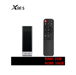 SOLOVOX X96S Android 9.0 4K Dongle TV Box Amlogic S905Y2 Quad Core 2G 16G 4G 32G 5G Dual WiFi Bluetooth 4.2 H.265 X96 Stick MARS TV X Mini Player