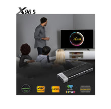 Load image into Gallery viewer, SOLOVOX X96S Android 9.0 4K Dongle TV Box Amlogic S905Y2 Quad Core 2G 16G 4G 32G 5G Dual WiFi Bluetooth 4.2 H.265 X96 Stick MARS TV X Mini Player