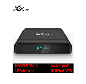 SOLOVOX 2020 X96 Air Smart TV BOX Android 9 Amlogic S905x3 4GB 64GB 32GB WiFi 4K 8K Netflix X96Air 2GB 16GB MARS TV X IPTV Set Top Box