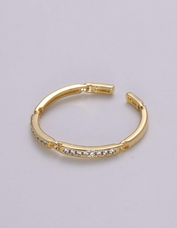 Dominga Dainty Open Links Ring