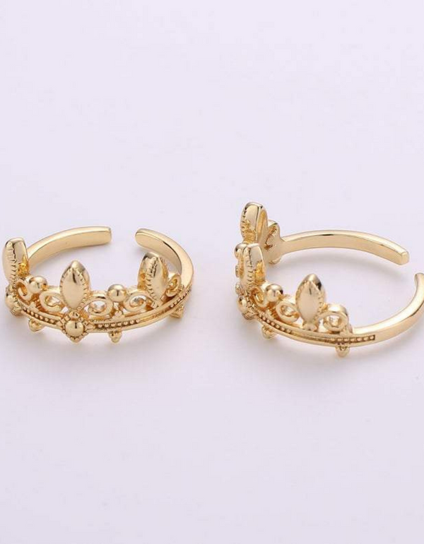 Fabiola Crown Ring