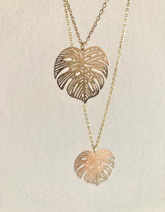 Rosey Palm Necklace