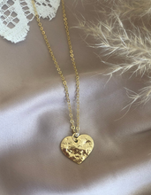 Load image into Gallery viewer, 18K Gold Plated Golden Heart Necklace