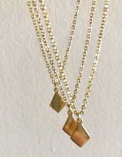Load image into Gallery viewer, Mini Geometric Shape Necklace