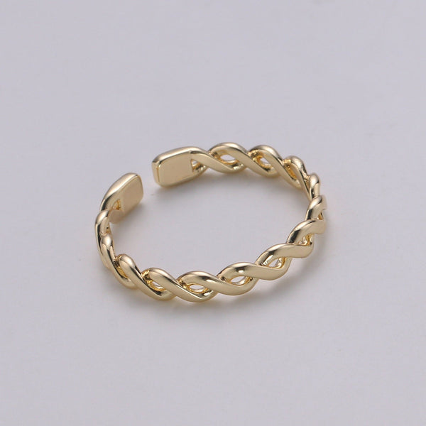 Zary Twisted Minimalist Ring