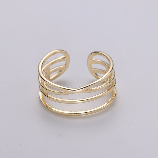 Awilda Layered Ring